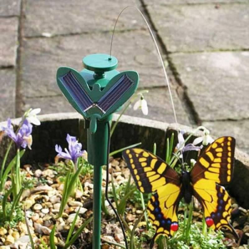 Градинска соларна летяща пеперуда декорация за градина балкон гр. Добрич,  Област Добрич - Pazarluk.com